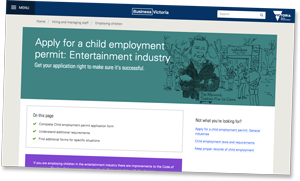 Child Employment Information